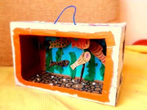 akvariumas is kartono