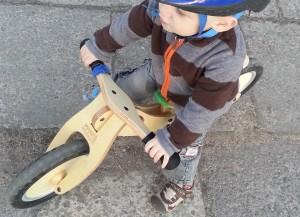 balansinis dviratis dvimečiui
