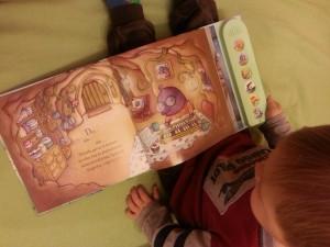 Muzikos garsų knygelė mažiesiems