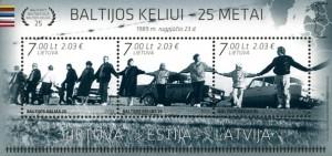 Baltijos kelias -pasto zenklu blokas 2014