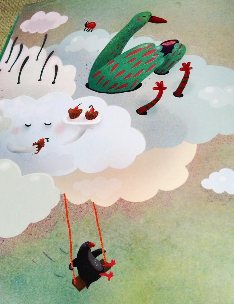 Gulbės debesyse